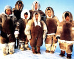 Sweet-Inuit-Family-Use-Complete-Outfit-And-Parkas-Coat-Style